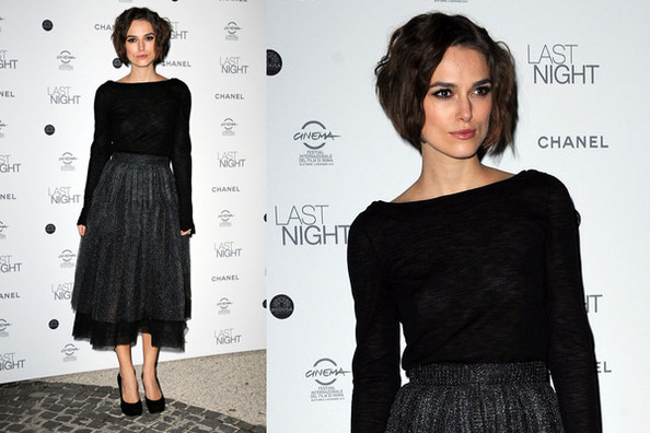 Keira Knightley and Chanel Make Beautiful Fashion Love