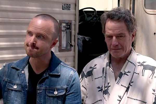 Bryan Cranston And Aaron Paul Just Reunited With The 'Breaking Bad' RV For the Best Possible Reason