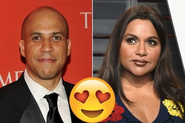 Mindy Kaling And Sen Cory Booker Set Up A Date On Twitter