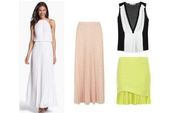 Fashion Trend Report: Pleats