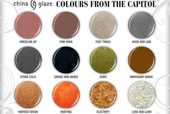 'The Hunger Games' Inspires China Glaze Nail Polish Collection