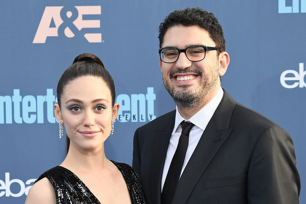 Emmy Rossum marries in NY