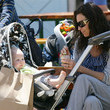 Minnie Driver Playing With Son At Park - From zimbio.com