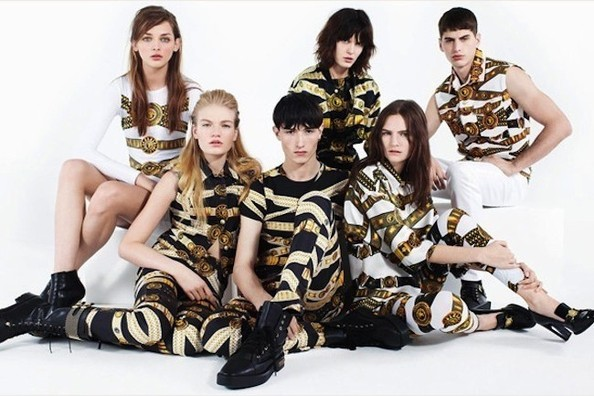 First Look: J.W. Anderson's Debut Versace Versus Collection