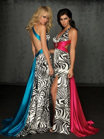Prom! Animal prints are an exotic and eye-catching way to stand out