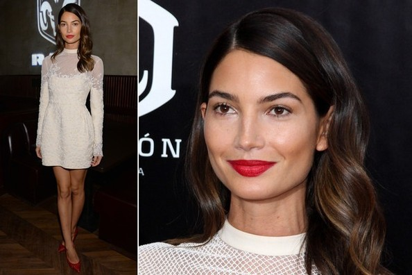 Lily Aldridge is Perpetual Perfection: Let's Break Her Latest Look Down From Head to Toe