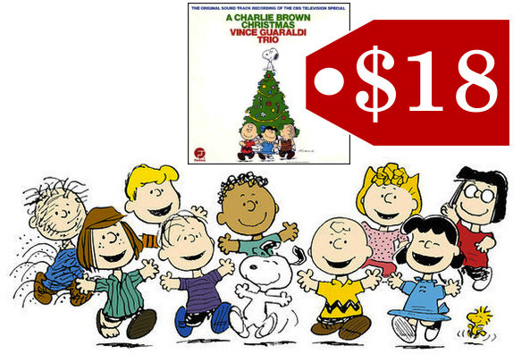 A Charlie Brown Christmas Soundtrack.A Charlie Brown Christmas On Vinyl Holiday Gift Guide For