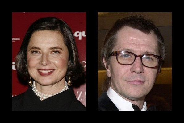 Isabella Rossellini was engaged to Gary Oldman