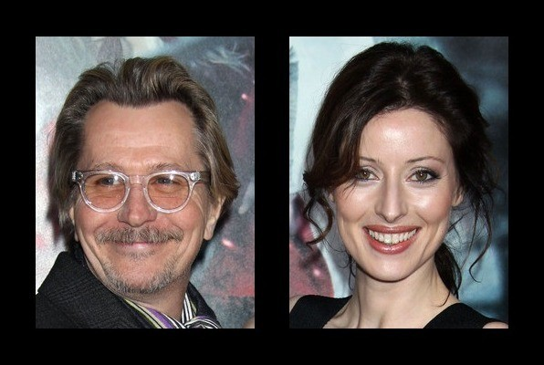 Gary Oldman is married to Alexandra Edenborough