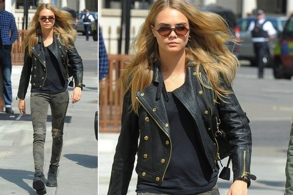 Cara Delevingne's Edgy Street Style