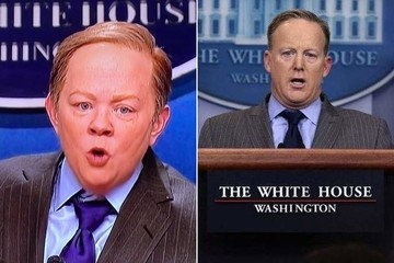 Melissa McCarthy Debuts a Crazy Accurate Sean Spicer on 'SNL'