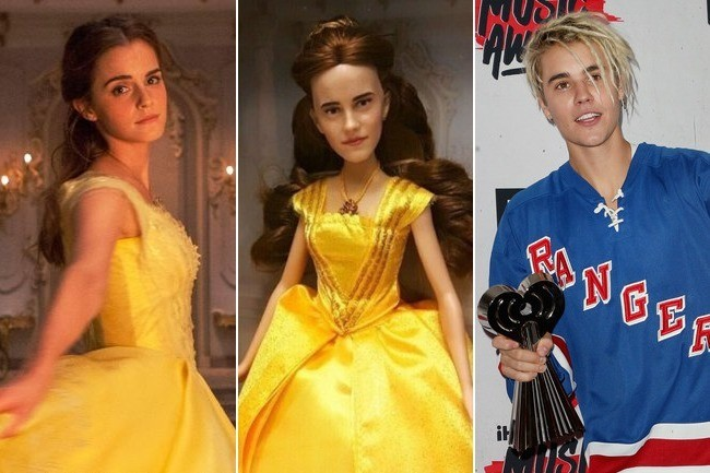 This Belle Doll Is Going Viral For Looking More Like Justin Bieber Than A Disney Princess