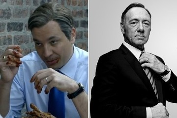 Jimmy Fallon Nailed His Hilarious 'House of Cards' Spoof