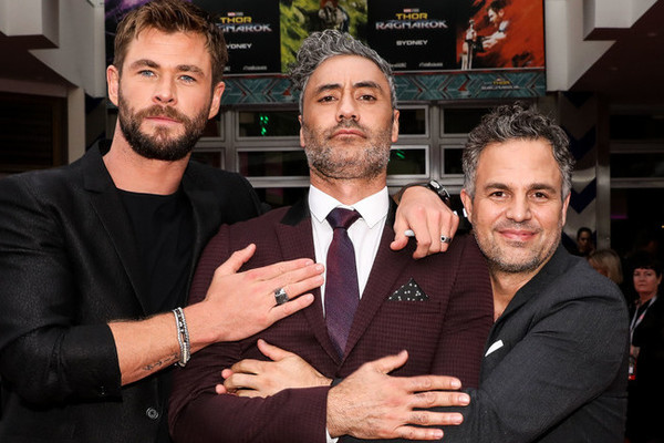 The Stars of 'Thor: Ragnarok' Out of Costume