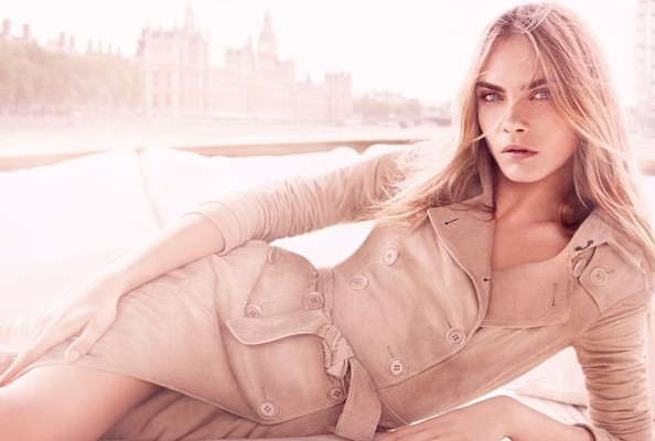 Cara Delevingne Lands Her First Fragrance Campaign—For Burberry! [VIDEO]