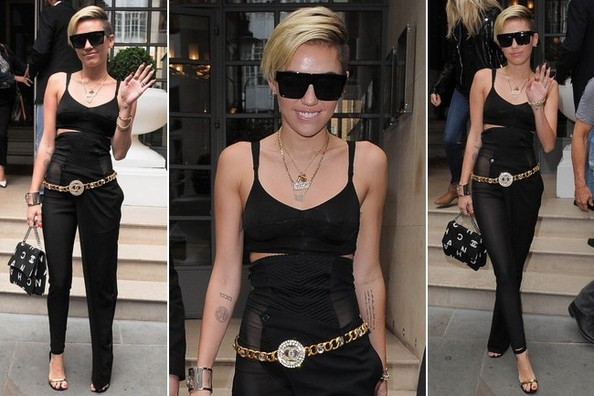 We're Secretly In Love With THAT Outfit Miley Cyrus Wore the Other Day
