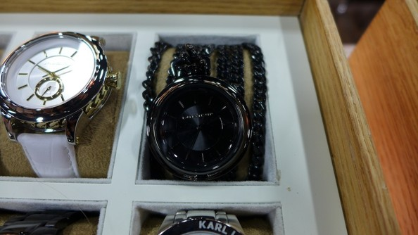Karl Lagerfeld Watches Launch This Month - Designer Collaborates With Fossil