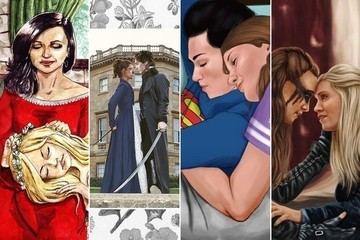 The Final 4 Fandoms Created Mind Blowing Fan Art for Zimbio's 2017 TV Couples March Madness