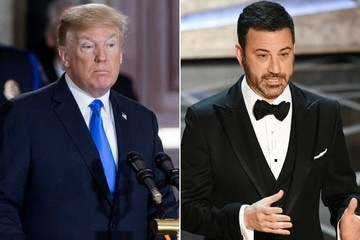 Jimmy Kimmel Fires Back After President Trump Calls Out Poor Oscars Ratings