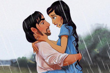Check Out Disney Characters in Scenes from 'The Notebook'