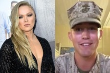 She Said Yes: Ronda Rousey May Actually Accompany Marine Jarrod Haschert to His Ball