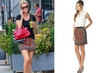 Found: Nicky Hilton's Embellished Skirt