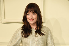 Dakota Johnson Matches Her Outfit to the Decor