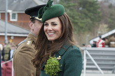 Kate Middleton Gets Into the St. Patrick's Day Spirit