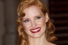 Jessica Chastain Goes Glam