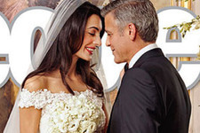 George Clooney and Amal Alamuddin's First Wedding Photos Revealed