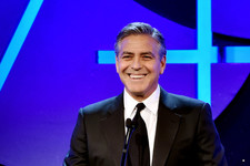 George Clooney Charms the Crowd in Beverly Hills