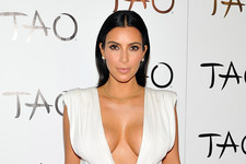 Kim Kardashian Celebrates Her Birthday in Sin City