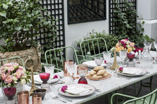 An Indian Summer Dinner Party by Laduree