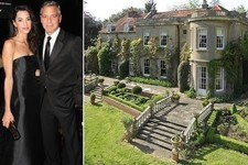 George Clooney and Amal Alamuddin's English Country House