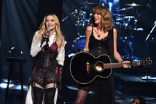 Madonna and Taylor Swift Rock Out
