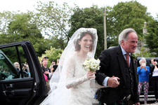 Rose Leslie's Stunning Wedding Dress