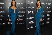 Look of the Day: Padma Lakshmi's Cushnie et Ochs Gown