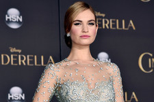 Look of the Day: Lily James' Princess Moment