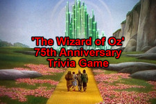 'The Wizard of Oz' 75th Anniversary Trivia Game