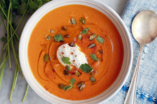Warm Up with This Carrot, Coconut, and Coriander Soup