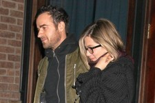 Jennifer Aniston and Justin Theroux Enjoy a Date Night