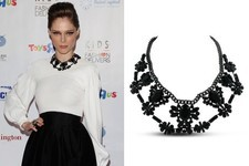 Found: Coco Rocha's Floral Bib Necklace