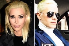Who Wore Platinum Blond Better: Kim Kardashian or Jared Leto?