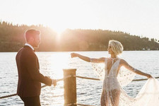 The Most Daring Celebrity Wedding Dresses