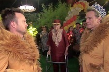 Bryan Cranston and Aaron Paul Reunited for a 'Sweet Sixteen' Spoof on 'Kimmel'