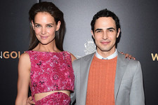 Look of the Day: Katie Holmes' Zac Posen Number
