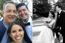 Tom Hanks and Other Celebrity Wedding Crashers