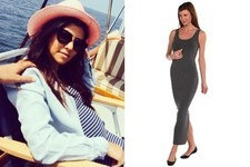 Found: Kourtney Kardashian's Striped Maxi