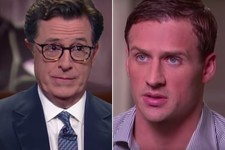 Stephen Colbert's Fake Ryan Lochte Interview Is Pretty Much Indistinguishable from Reality