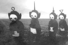'Teletubbies' in Black and White Is Something You'll Never Be Able to Unsee
